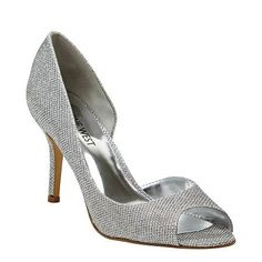 These would be perfect! GEEZUP - Add a touch of glamour to your outfit with these stylish GEEZUP heels. Wear with a drape detail top, midi pencil skirt and satin clutch for a glamorous evening look or team them with a two-toned dress, leather jacket and metal-plated necklace for a luxe party approach. Synthetic upper, 8cm heel height.
