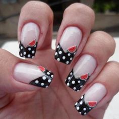 polka-dots-watermelon :)