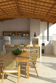 Precast Barbecue: Advantages of how to assemble and 50 photos Porch And Terrace, Barbecue Area, Precast Concrete, Pergola With Roof, Rustic Style, Cottage Style, My Dream Home, Outdoor Living, Kitchen Decor