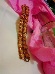 Mis primeros trabajos con abalorios, delicas. Andrea Catalina Montoya - Google+