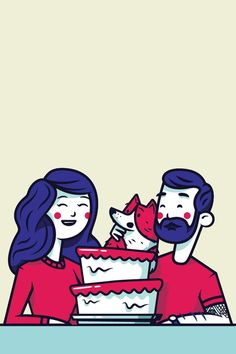 Dribbble - Bday by Nick Slater
