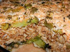 Rakott brokkoli recept