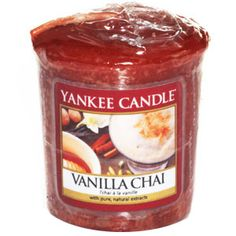 Buy now at www.scentedcandleshop.com - Yankee Candle Votive Sampler - Vanilla Chai. #yankeearmy #yankeecandles #scentedcandles #candleaddict #candles #christmasgifts #giftideas