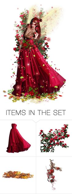 """""""Red Faery """" Summer Faery Masquerade Ball """""""" by girlinthebigbox ❤ liked on Polyvore featuring art, Summer, fairy and masqerade"""
