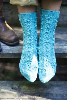 Flickering Fire socks by Julie Rousculp, Gifts 2011