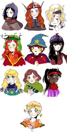 The Girls & Craig's Gang ~ The Stick of Truth