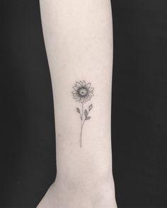Delicate sunflower.