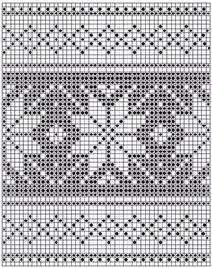 Poinsettias In The Snow / Drops Extra - Free Knitting Patterns By Drops Design - Diy Crafts Fair Isle Knitting Patterns, Knitting Charts, Knitting Stitches, Knitting Designs, Free Knitting, Knitting Projects, Crochet Chart, Filet Crochet, Crochet Patterns