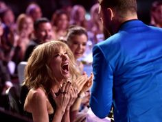Pin for Later: Why Did Taylor Swift Totally Freak Out With Justin Timberlake?