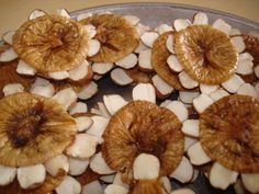 estrelinhas de figo e amendoa