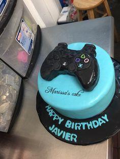 Control play station birthday cake. Visit us Facebook.com/marissascake or marissascake.com