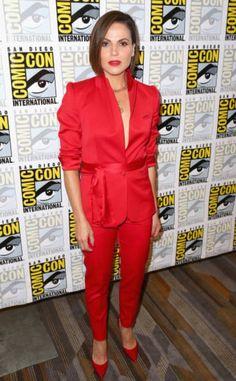 Lana Parrilla at the SDCC 2017 Press Room