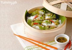 Crowned with fresh herbs and Vietnamese flavors, this dish is a healthy choice with bursts of flavor.