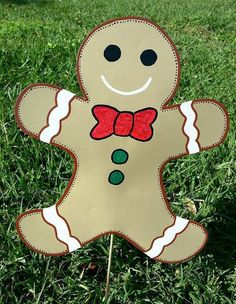 Gingerbread Boy Decoration, Gingerbread from Flower Power