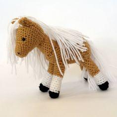Part of the handmade horses