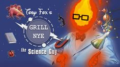 Yeah, Grillby teaches science. Well, Mixology actually. (From Undertale)