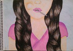 #girl#pink#lollipop#sweet ♥