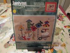 Janlynn Counted Cross Stitch KIT  # 36-25, Birdhouse  Welcome