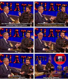 Chatty Man, Jack Whitehall and his dad