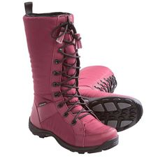 Baffin Chicago Winter Boots - Insulated (For Women) in Dark Red