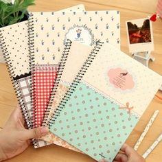 Beautiful notebook decoration idea