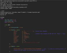 While analyzing some of the attacks we see on the Wordfence Web Application Firewall, we discovered code that an attacker was trying to upload that was part of a botnet. In case you're not in the information security space, a botnet is a network of 'bot' or 'zombie' machines that is controlled from a central command and control or C&C server.  In the case of this botnet, it was controlled via a chat service called IRC or Internet Relay Chat. IRC is a popular way of