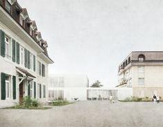 Juan Socas . La Rozavère foundation . Lausanne (1)