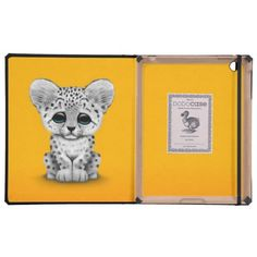 =>>Cheap          	Cute Baby Snow Leopard Cub on Yellow iPad Cases           	Cute Baby Snow Leopard Cub on Yellow iPad Cases in each seller & make purchase online for cheap. Choose the best price and best promotion as you thing Secure Checkout you can trust Buy bestDeals          	Cute Baby S...Cleck Hot Deals >>> http://www.zazzle.com/cute_baby_snow_leopard_cub_on_yellow_ipad_cases-256773414036809556?rf=238627982471231924&zbar=1&tc=terrest