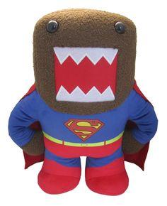 "Domo 6"" Plush: Superman Domo"