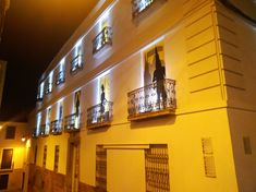 Granada, Balconies, Architecture, Grenada