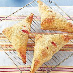 Nectarine and Raspberry Hand Pie