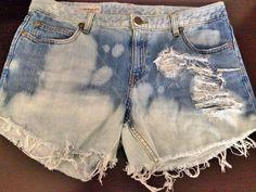 Pants/Shorts : Banana Republic Acid Washed Shorts