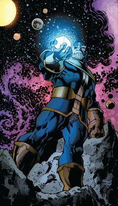 Thanos by Mark Bagley