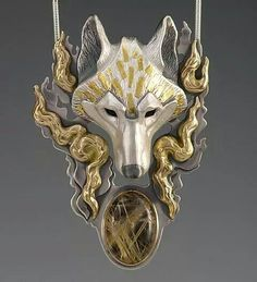 Keum-boo...Gold burnished onto silver by Brooke Stone again