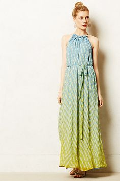 Salsette Maxi Dress - anthropologie.com... if it wasn't silk and wasn't almost $300
