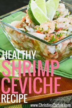 Healthy Shrimp Ceviche Recipe