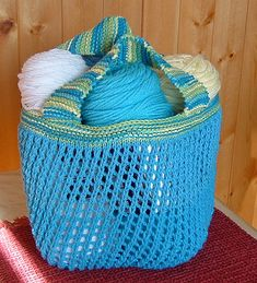 Ravelry: Let's go shopping - Market bag pattern by Linda Skinlo - free ravelry download