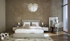 Różne wnętrza - Sypialnia, styl nowoczesny - zdjęcie od EPI Studio