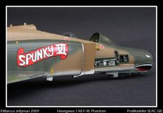 - F-4E Phantome Small Grill, Korat, Landing Gear, Tamiya, Military Aircraft, Airplanes