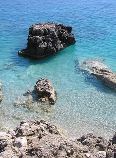 DHERMI, ALBANIA || the blueish/greenish colour of the water is my favourite colour, but I cannot decide weather it is turquoise or aqua...||