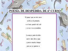 Despedida De Graduación De Primaria Imagui Poemas De
