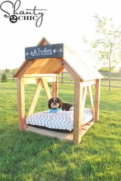 DIY Breezy Dog Bed