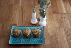 Bananenmuffins mit Joghurt und Apfel