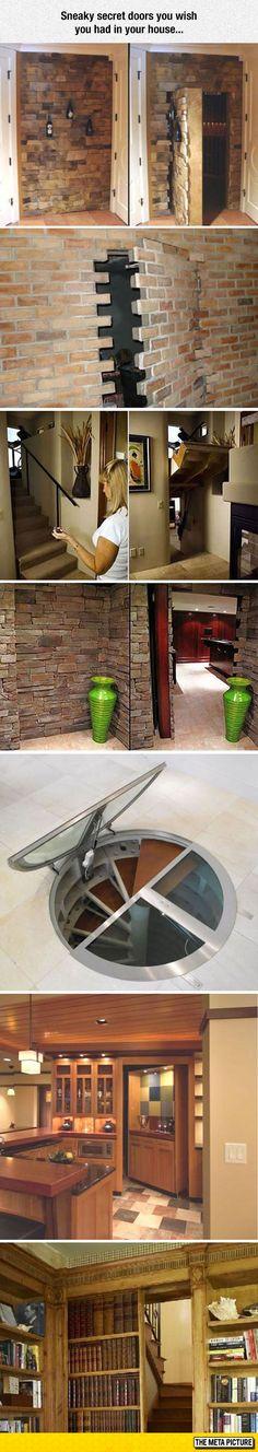 Sneaky Secret Doors