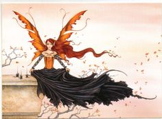 Set 8 Amy Brown Vintage 5x7 Morgana Dark Horse Red Queen Gothic Fire RARE   eBay