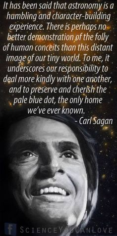 Carl Sagan. scholar. philosopher.