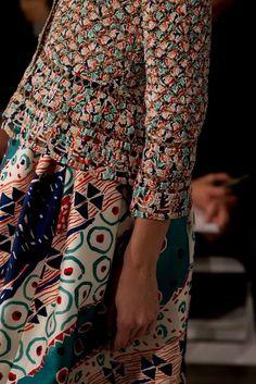 Outstanding Crochet: Crochet cardigans from Oscar De La Renta.