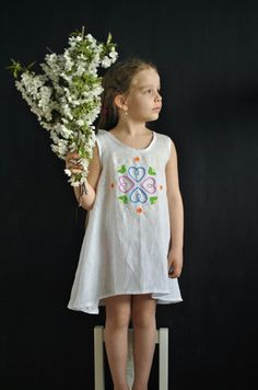 Linen embroidered dress www. Summer Dresses, Heavenly, Products, Fashion, Moda, Summer Sundresses, Fashion Styles, Fashion Illustrations, Summer Clothing