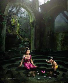 Shri Ganesh Images, Ganesh Chaturthi Images, Hanuman Images, Durga Images, Ganesha Pictures, Shiva Hindu, Shiva Art, Hindu Deities, Lord Ganesha Paintings
