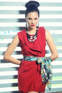 Catriona Gray -Manila Bulletin Fashion Section C2 25th May 2012